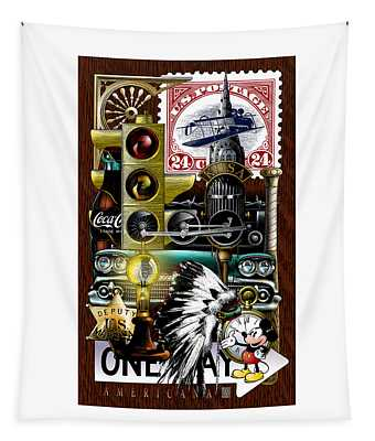 Americana Tapestry
