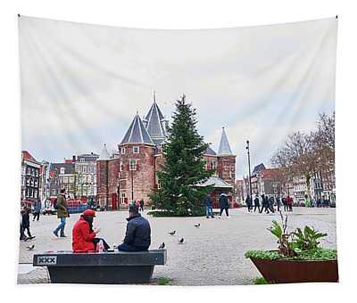 Amsterdam Christmas Tapestry