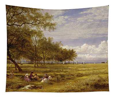 An English Hayfield Tapestry