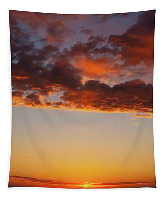 An Oklahoma Sunsrise Tapestry