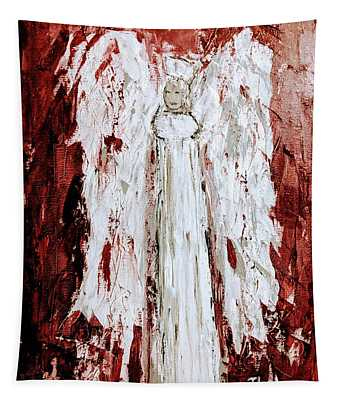 Angel Against Violence Tapestry
