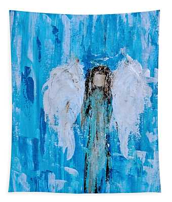 Angel Among Angels Tapestry