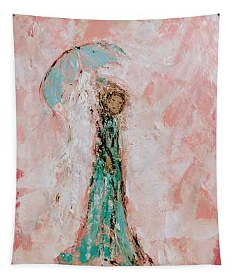 Angel By Your Side Tapestry