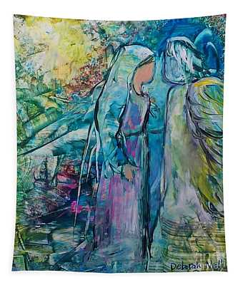 Angel Encounter Tapestry