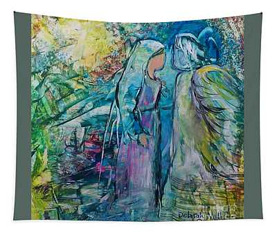Angel Encounter Tapestry