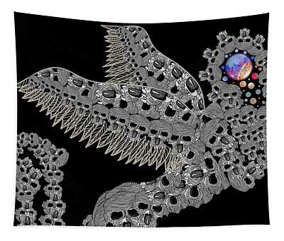 Angel Of Death Light With Worlds To Destroy Save Tapestry