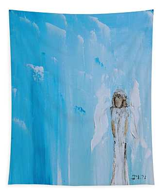 Angel Of Simplicity Tapestry