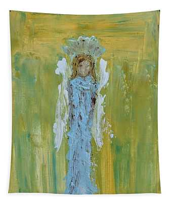Angel Of Vision Tapestry