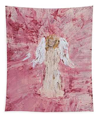 Angel Was Lost But Now Is Found  Tapestry