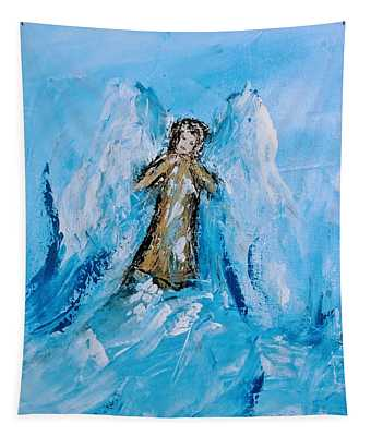 Angel With A Purpose Tapestry