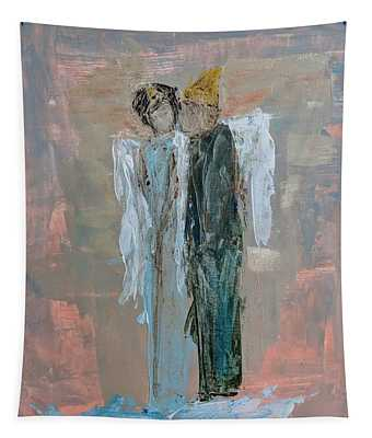 Angels In Love Tapestry