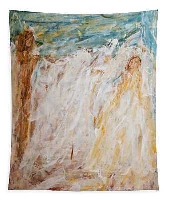 Angels Of Peace Tapestry