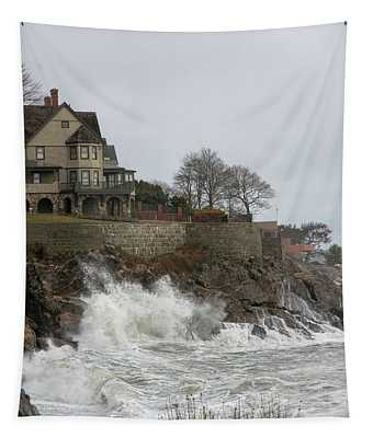 Angry Splash Tapestry
