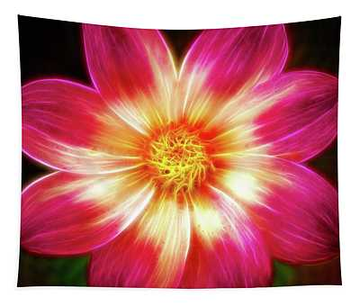 Another Artistic Amazing Dahlia Tapestry