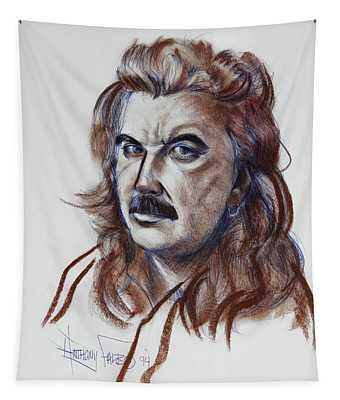 Anthony R Falbo Self Portrait 1994 Tapestry