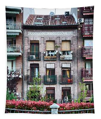 Apartments In Madrid Tapestry