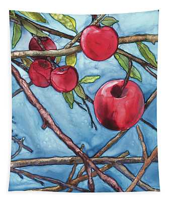 Apple Harvest Tapestry