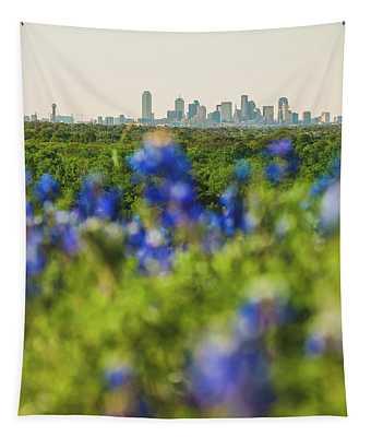 April In Dallas Tapestry