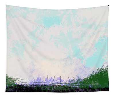April Landscape  Tapestry