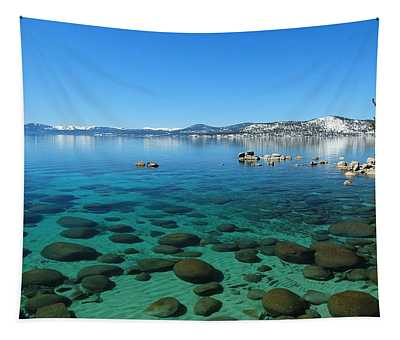 Aqua Nirvana Tapestry