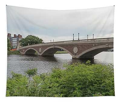Arch Bridge Over River, Cambridge Tapestry