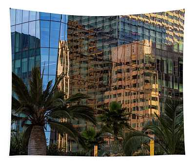 Architectural Reflections Tapestry
