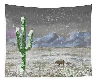 Arizona Blizzard Tapestry