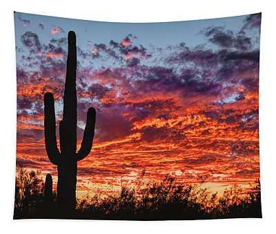 Arizona Sunset Tapestry