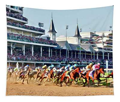 Around The First Turn Tapestry