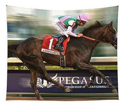 Arrogate Wins, Saturday, 2017, $12 Million Pegasus World Cup Invitational At Gulfstream Park, Miami  Tapestry