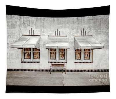 Art Deco Windows Tapestry