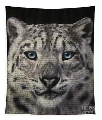 Art In The News 150- Snow Leopard Tapestry