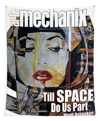arteMECHANIX 1909 TILL SPACE GRUNGE Tapestry