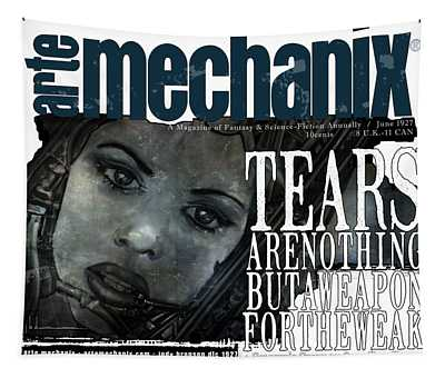 arteMECHANIX 1927 A WEAPON FOR THE WEAK  GRUNGE Tapestry