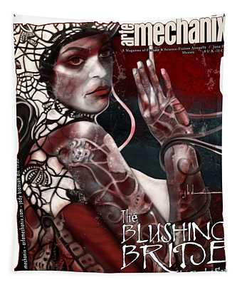 arteMECHANIX 1933 The BLUSHING BRIDE GRUNGE Tapestry
