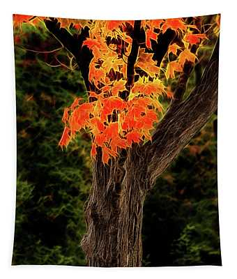Artistic Maryland Autumn Tree Tapestry