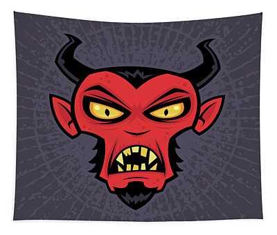 Mad Devil Tapestry