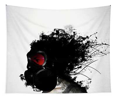Ghost Warrior Tapestry