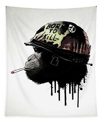 Born To Kill Tapestry