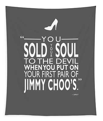 Sold Your Soul To The Devil Tapestry