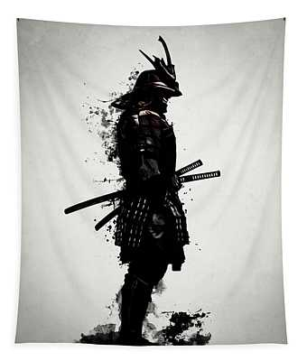 Armored Samurai Tapestry