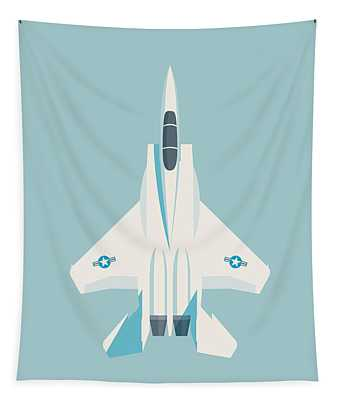 F15 Eagle Fighter Jet Aircraft - Sky Tapestry