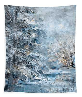 In The Snowy Silence Tapestry