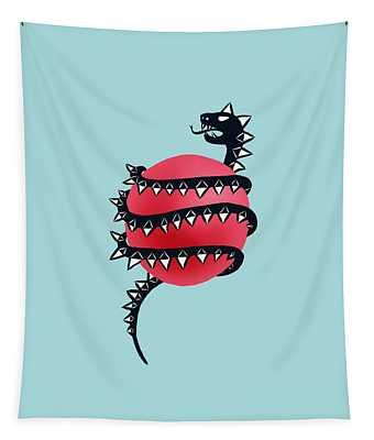 Dragon Snake Monster Tapestry