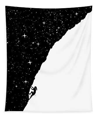 Night Climbing Tapestry