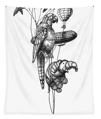 The Helium Menagerie Tapestry