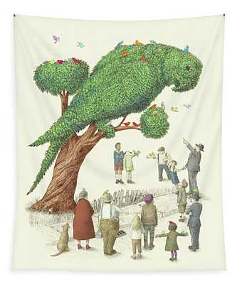 The Parrot Tree Tapestry