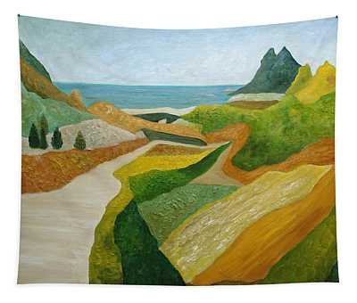 A Walk Down To The Sea Tapestry