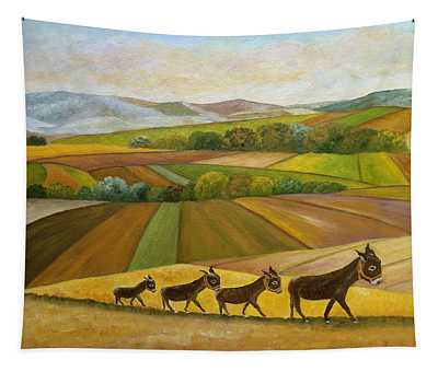 Sunday Promenade Tapestry