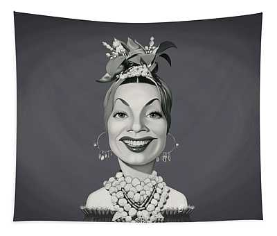 Celebrity Sunday - Carmen Miranda Tapestry